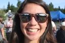 Aila at the Fort Ward picnic.