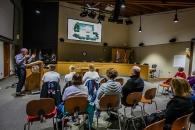 FWCH neighborhood meeting at City Hall, 2016.