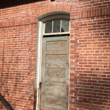 original door restored