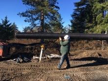 storm-drain pipe